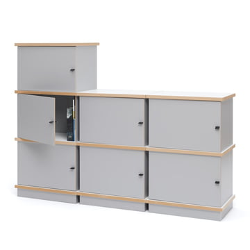 Stap Box System in White by Tojo