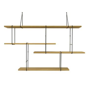 Link Shelf by Studio Hausen in Oak