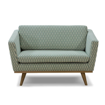 Fifties Sofa 120 from Red Edition in bakou celadon (T31)