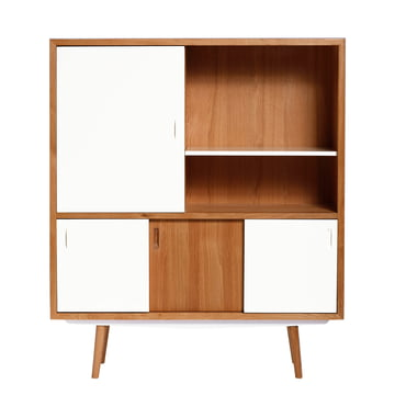 Fifties cabinet by red edition in white