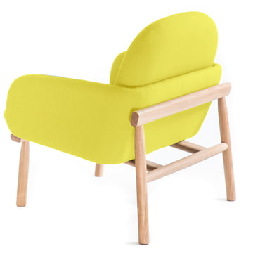 Curved Seat and Comfortable Backrest
