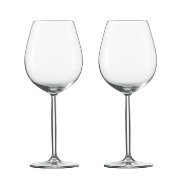 Diva Glass for red wine and water (set of 2) by Schott Zwiesel