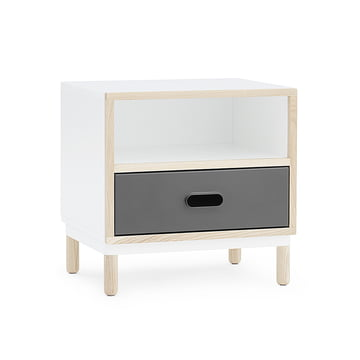 Kabino Bedside Table by Normann Copenhagen in grey