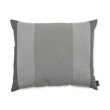 Line Cushion by Normann Copenhagen in the size 50 x 60 cm in light grey