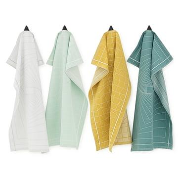IIllusion dishcloths by Normann Copenhagen