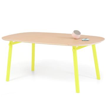 Céleste Dining Table 220 cm by Hartô in oak / yellow