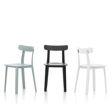 The All Plastic Chair by Vitra in various colours