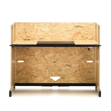 Hack Desk with crank adjustment from Vitra