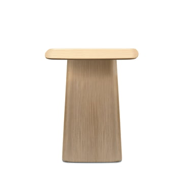 Small wooden side table from Vitra in light oak