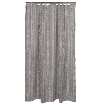 Varvunraita Shower Curtain by Marimekko in black-white