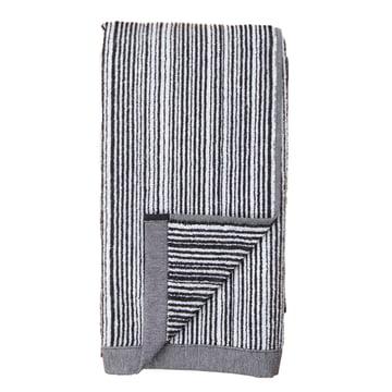 Varvunraita towel by Marimekko in black and white