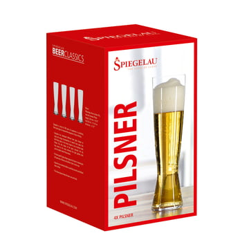 Tall Pilsner in the set of 4 from Spiegelau
