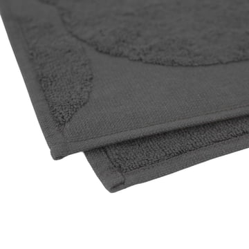 Cotton Towel with a Subtle Floral Pattern