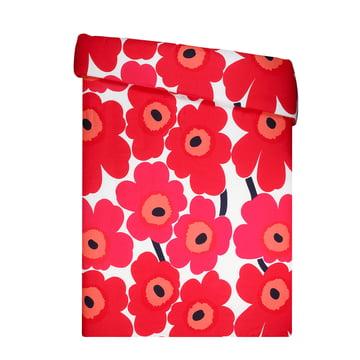 Marimekko - Unikko Duvet Cover 140x200cm, red / white