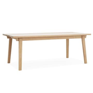 Slice Table Wood by Normann Copenhagen in Oak