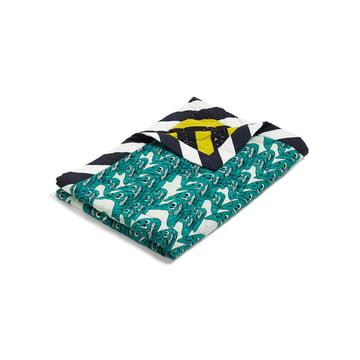 Hay - Smileys Quilt Bedspread, 140x200, green / multicolour