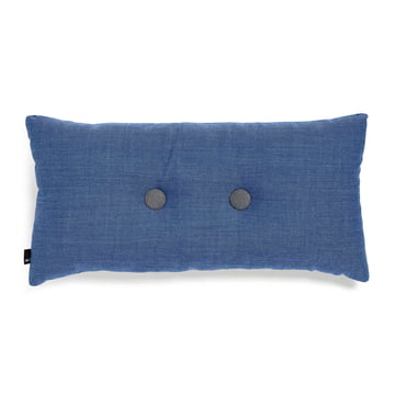 Hay - 2x2 Dot Cushion 70 x 36cm, denim