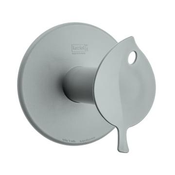 Sense Toilet Roll Holder by Koziol in grey