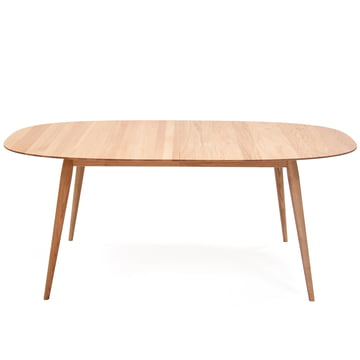 Play Dinner Lamé Dining Table 180-280 cm from bruunmunch in oak natural