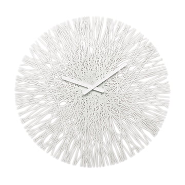 Silk Wall Clock from Koziol in white