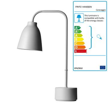 Lightyears - Caravaggio Table Lamp Read, grey