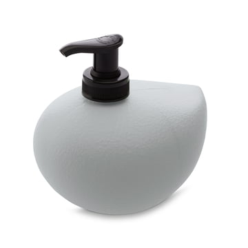 Grace Sense soap dispenser by Koziol in grey