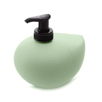 Grace Sense soap dispenser by Koziol in solid mint