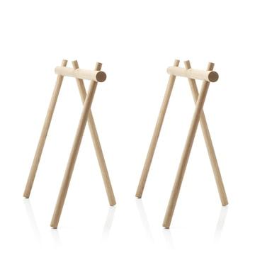 applicata - Stick Trestle (set of 2), oak