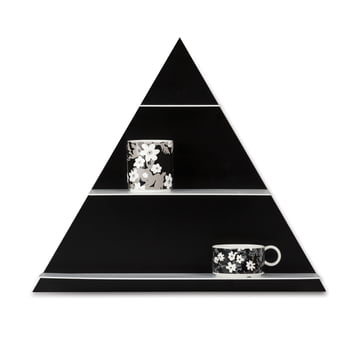 Design Letters - Paper Shelf Triangle, black