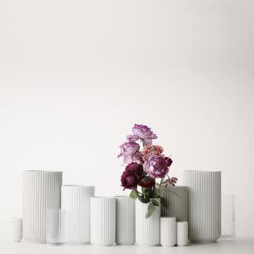 Lyngby Porcelæn - Lyngby Vase, white matt