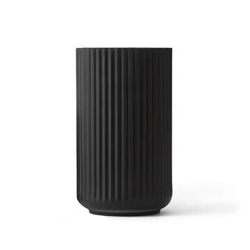 Lyngby Porcelæn - Lyngby Vase, black, H 20 cm
