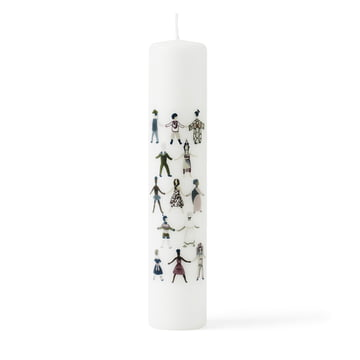 Children of the World Candle by Lyngby Porcelæn