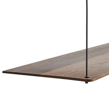 Stedge Shelf in smoked oak