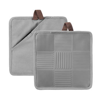 Nanna Ditzel Potholder by Rosendahl in Grey