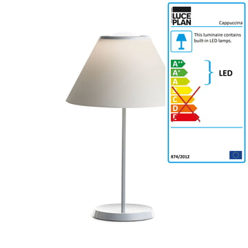 Cappuccina Table Lamp by Luceplan in cream
