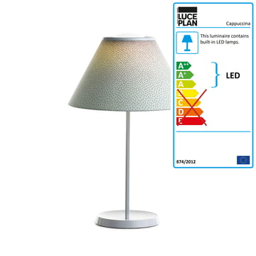 Cappuccina Table Lamp by Luceplan in green