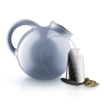 Globe Teapot and tea bags by Eva Solo
