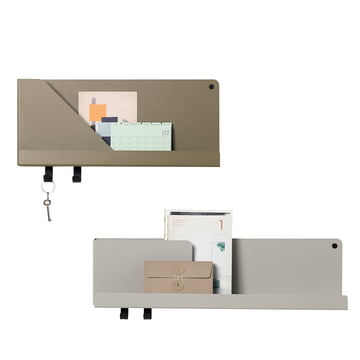 Folded shelf in small and medium