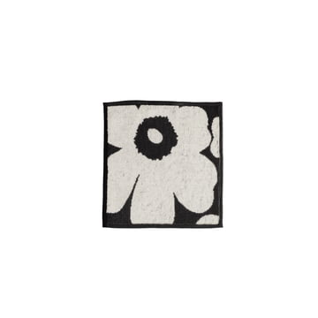 Marimekko - Unikko Mini Towel 25 x 25 cm, black / sand