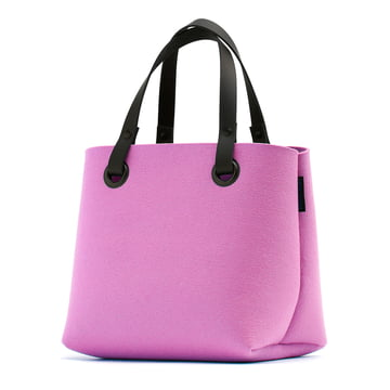 The Hey Sign - Mia Felt Bag in Wild Rose