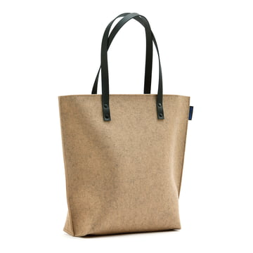 The Hey Sign - Prag Felt Bag in Terra