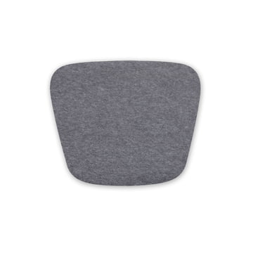 Hey Sign - Felt Seat Cushion Hal Wood Chair, 5mm with anti-slip coating, anthracite