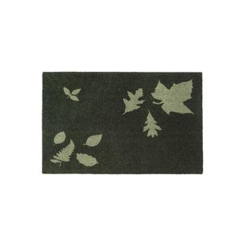 tica copenhagen - Leaf Mega Doormat, 60 x 90 cm, green