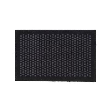tica copenhagen - Dot Doormat, black / grey, 60 x 90 cm