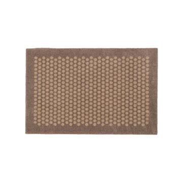 tica copenhagen - Dot Doormat, sand, 60 x 90 cm