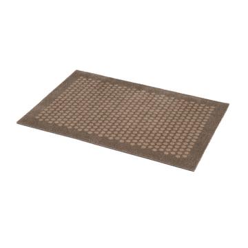 The tica copenhagen - Dot Doormat in sand, 60 x 90 cm