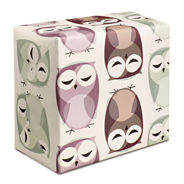 The pleased to meet - Owls Wrapping Paper