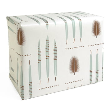 The pleased to meet - Feathers Wrapping Paper
