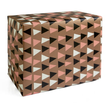 The pleased to meet - Wrapping Paper Ethnic in brown / multi-coloured