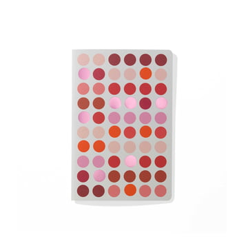 Dot Notebook A6 by Vitra in Red